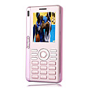 Daxian E922 Dual Card Dual Screen QWERTY Keyboard Flat Touch Screen Flip Cell Phone Pink (Not For U.S/Canada)
