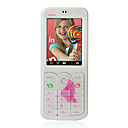 Changhong A6 Dual Card Bluetooth Touch Screen Cell Phone White (SZHX0211)