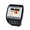 Dual SIM Touchscreen Cell Phone Watch + Keypad  (Quadband)
