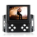 8GB 3.5-inch Slip Design Multi-Media Game MP5/MP3 Player Digital Camera DV Black(SZM648)