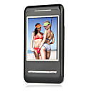 H8 Quad Band Dual Card Dual Standby Ultra Thin Flat Touch Screen Cell Phone Black +2GB TF Card