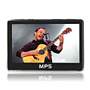 4,3 polegadas touchscreen mp4 player (8GB, preto)
