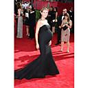 Heidi Klum Trumpet/ Mermaid Sweetheart Court Train Tulle Emmy/ Evening Dress (FSD0363)