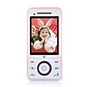 Q8 Dual Card Flip Cell Phone Pink (2GB TF Card)
