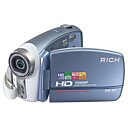 RICH HD-Q1 5.0MP CMOS 12.0MP Enhanced Digital Camcorder with 3.0inch LCD Screen  5X Optical Zoom 4X Digital Zoom(SMQ5647)