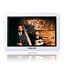 8gb 4,7 inch high-definition tv met 2xspeakers afstandsbediening mp5/mp3 speler wit (szm823)
