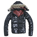 09 New Arrival Men's Black Down Quilted Wadded Winter Jacket Coat (LGT1110-5)
