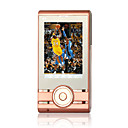 X1 Quad Band Dual Card Bluetooth FM Touch Screen Cell Phone Champagne (2GB TF Card)(SZ05150576)