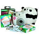 7s fujifilm Instax mini cmera rosa instantneas, com 30 filmes (dce115)
