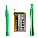 400mAh 3.7V Replacement Lithium Battery with Tools for 2st Generation iPod Nano