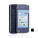 TX - Dual SIM 3.2 Inch Qwerty Keyboard Cell Phone White (WIFI Dual Camera TV)