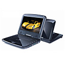 9.5-inch Portable DVD Player with TV Function, USB Port, 3-in-1 Card Reader and Games (TRA-293)