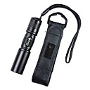 UltraFire C3 1-Mode Cree XR-E Q5 Aluminum Alloy LED Flashlight (1x14500/1xAA, Black)