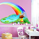 Kids autocollant de mur (0752-p6-17 (b))