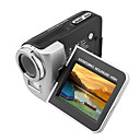 "Tekxon HDT8 HD 720p Digital Video Camcorder with 2.4"" TFT LCD 270° Rotation 3X Digital Zoom HDMI (DCE233)"