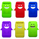 Silicone Protective Case for iPhone 3G/3GS - Lucky Angel Design (7 Colors Per Pack Randomly)