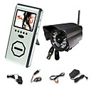 2.4 GHz Wireless Night Vision Security Camera System (Camera +  2.5&quot; LCD Viewer) (SFA-010227)