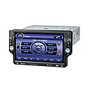 Da 7 pollici touch screen 1 DIN auto in-dash lettore DVD GPS - DVB-T - TV - Radio - Bluetooth - SD - USB zona funzione dt-1701agd duale (szc1975)