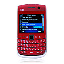 E900 Quad Band Dual Card Dual Camera WIFI TV JAVA Full Qwerty Keypad Cell Phone (2GB TF Card)