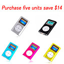 1GB Mini MP3 Players - Five Pieces Per Package/Five Colors(SZM055)