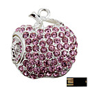 Exquisite Apple Jewelry USB Flash Drive (2GB to 16GB)