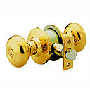 High Quality Solid Brass Keyed Entry Door Knob Lock (0799-6082PB-ET)