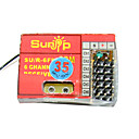 sunip fm 35 mhz 6-kanaals radio-ontvanger rc vliegtuig boot (h290409671036)