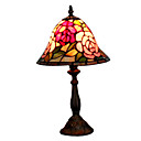Tiffany-style Rose Floral Table Lamp(0864-HZ0848)