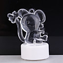 RGB Light LED Charming Mouse Shaped Toy (3*AG13)