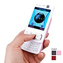 3.2 Inch Touchscreen Dual SIM Slide Cell Phone + Dual Camera, TV, FM (Quadband)