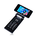 f053 quad band wifi java tv a funo de telefone celular gps preto (2GB TF) (sz05610010)