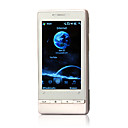 t5353 Windows Mobile 6.5 + gps bluetooth wifi quad band java 3.2 pollici a schermo piatto, telefono cellulare touch nero e argento (2GB TF card) (sz04