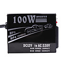 100W Power Inverter (12V DC to 110V AC)