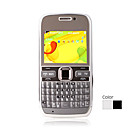 E72 quad band double carte wifi java qwerty appareil à double clavier du mobile bar (sz05440643)