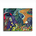 Stretched Canvas Handmade Ladies of Arles Memories of the Garden at Etten,c.1888 Painting by Vincent Van Gogh 0192-YCF103185