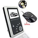 2.5 Inch TFT LCD 2.4GHz Motion Detection Wireless DVR Baby Monitor Kit with Built-in Camera inside the Mouse(SFA1055)