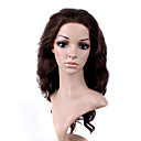 main attache dans le style lace front de qualit  long synthtique de haute aspect naturel perruque noire europenne cheveux bruns armure (0.479  6