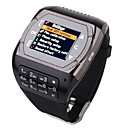 M808 Quad Band Dual Sim Card Camera FM Blutooth Touch Screen Watch Phone (2GB TF Card)