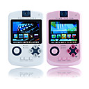 2,4 pulgadas juego reproductor de mp4 con cmara digital (8 GB, blanco / rosa)