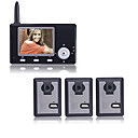 3.5 Inch Screen Wireless Visual Intercom System With 3 Transmitters (0760-YG-3-0909)