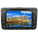 "7"" TFT LCD Digital Touch Screen 2 Din Car DVD Player - GPS - TV - FM - Bluetooth - IPOD - RDS For Skoda Superb-GOLF5-GOLF6 2007-2009"