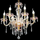 6-lumire de bougie k9 lustre de cristal (0944-hh11025)