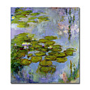 Handmade Water Lilies 41  by Claude Monet (0192-YCF103507)