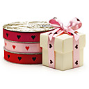 Personalized Design 1-Inch Double Faced Satin Ribbon (2 rolls)