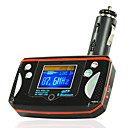 1,5 &quot;LCD-scherm mp3-speler bluetooth handsfree carkit-fm transmitter-afstandsbediening
