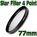 Emolux 77mm Star 4 Point Filter(SQM6023)