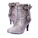 Top-Qualitt pu oberen Mittelklasse Fersen Stiefel mit Riemchen Fashion-Schuh (0987 x3007-)
