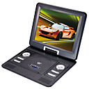 12,2 Zoll Tragbarer DVD-Player mit TV-Funktion, USB-Anschluss, 3-in-1 Kartenleser, Spiele (tra534)