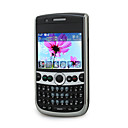 F116 GPS Quad Band Dual Card TV QWERTY Dual Camera JAVA Touch Screen Bar Cell Phone Black