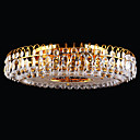 13-light Gold Color Bright Chrome K9 Crystal Ceiling Light (1069-J9851-X13)